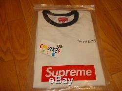 100% Authentic 2015 Supreme x Daniel Johnston Long Sleeve Top size M