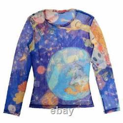2004aw issey miyake AYA TAKANO EARTH SHIRT TOP size 2 Multi Color rare