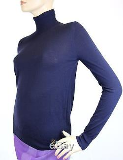 $795 NEW Authentic Gucci Long Sleeve Turtleneck Cashmere Sweater Top, XS, 297772