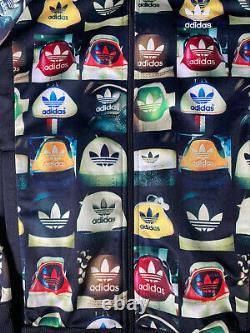 Adidas All Over Print Heel Photo Track Top Long Sleeve Jacket F78108
