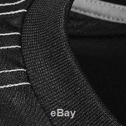 Adidas ORIGINALS X ALEXANDER WANG BLACK MEN'S FBALL TOP LONG SLEEVED CREW NECK