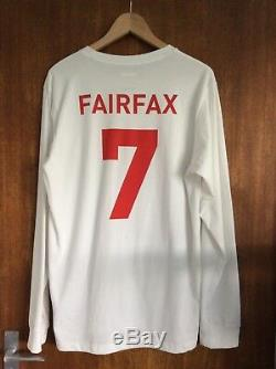 Adidas X Palace Fairfax Skate Copa England Football Jersey M