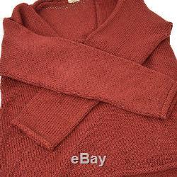 Auth HERMES by MARGIELA Vintage Long Sleeve Tops Knit Sweater Brown #M AK34107h