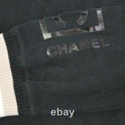 Authentic CHANEL Vintage CC Logos Long Sleeve Tops Black #38 AK25631b