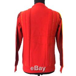 Authentic Christian Dior Vintage Long Sleeve Sweater Tops Red #M G03157
