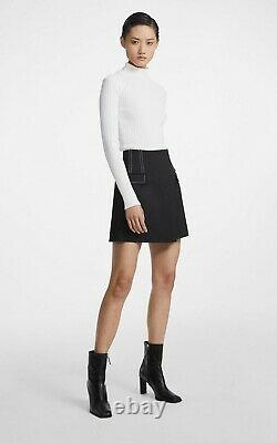 Authentic Dion Lee Twist Back LS Top in White. Available in AU 6, 8, 10