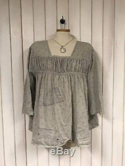 Authentic Magnolia Pearl Cotton Briony Top With Long Sleeves In Peter Rabbit