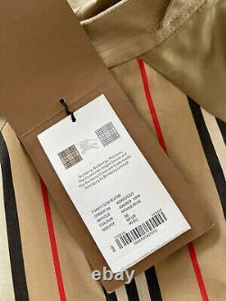 Authentic Womens Cotton Beige Check Shirt UK8, US6, IT40 Top Blouse RRP $1,650