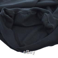 Authentic Yves Saint Laurent Vintage Long Sleeve Tops Black #M AK29023