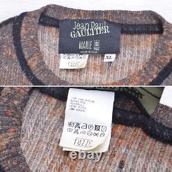 Aw03 Jean Paul Gaultier Maille Homme Clock Men Mesh Top Sweater