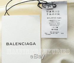 BALENCIAGA SWEATER LONG SLEEVED WOOL KNIT TOP sz 34