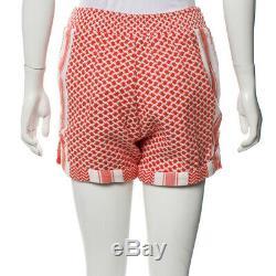 BNWT CECILIE COPENHAGEN shirt v long sleeve top + britta shorts SET coral S