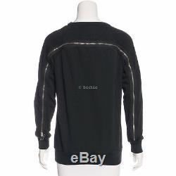 BNWT DRIES VAN NOTEN zip detailed sweatshirt long sleeve jumper zipper top XS