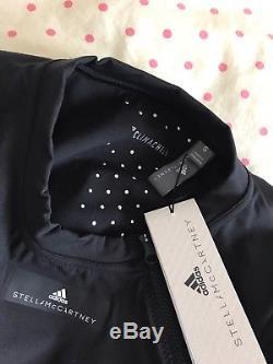 Bnwt Adidas Stella Mccartney Long Sleeve Run Crop Top Black S