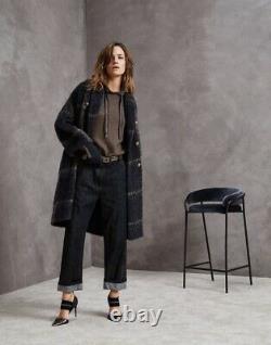 Brunello Cucinelli Cashmere Sweater top hoodie Monili S