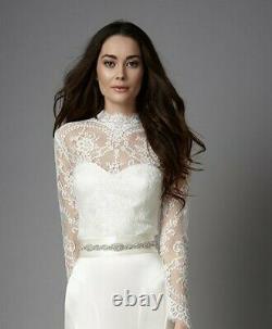 CATHERINE DEANE Dahlia Lace Wedding Top 14 NEW Current season RRP £285