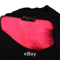 CHANEL 05A #40 Cambon Line Quilted Turtleneck Long Sleeve Tops NR13719