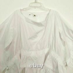 COMME DES GARCONS blouse lagenlook art to wear top One Size white eclectic New