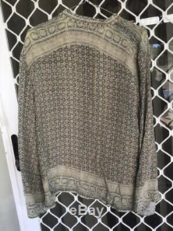 Camilla Franks Long Sleeve Embellished Button Down Top Size 3 Large $4 EXPRESS