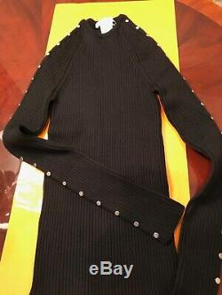Celine Fitted Turtleneck And Crew Neck Long Sleeves Top Each Size S New Italy