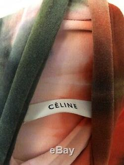 Céline Resort 2018 Philo Tie Dye Stretch Roll Neck Long Sleeve Sweater Top S