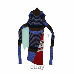 Celine Women's Long Sleeve Top S Multi, Blend silk, cashmere