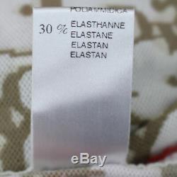Christian Dior Trotter Long Sleeve Tops Skirt Set Brown Nylon France Auth #N375