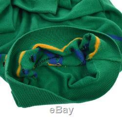 Christian Dior Vintage Logos Long Sleeve Shirt Tops Green Sweater AK31469g