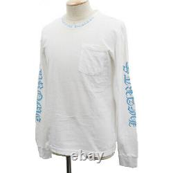 Chrom Hearts Logos Long Sleeve Tops T-shirt White Size M USA Authentic #SS703 S