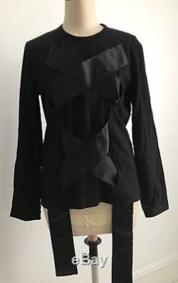 Comme Des Garcons Womens Long Sleeves Top Size L