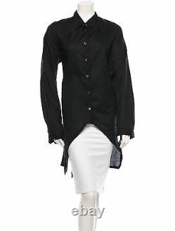 Crazy Cool $1,710 New Asymmetrical Ann Demeulemeester Black Top
