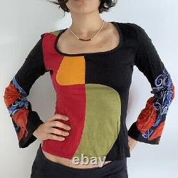 Custo Barcelona Printed Long Sleeve Top