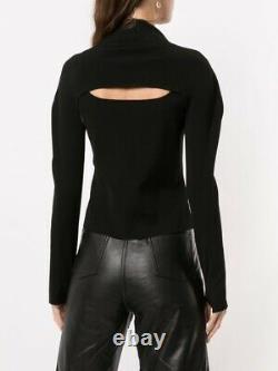 Dion Lee Hosiery Stirrup Top Black Size XS