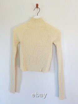 Dion Lee Twist Back Knit Top Size XS