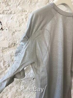 Dries Van Noten Long Sleeve Silver Top