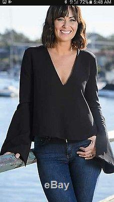 ELLERY humilis top black long sleeve 8 BNWT sold out