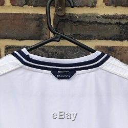England Football Shirt Kit Top 1999-2000 Long Sleeve Size XXL Vintage Umbro 90s