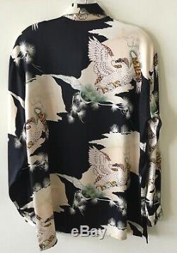 Equipment SUMPTUOUS blouse shirt top 100% silk long sleeve M SEXY