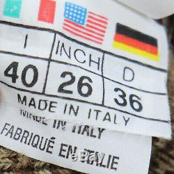 FENDI Jeons Logos Turtleneck Long Sleeve Tops Brown PL AC Italy Auth #JJ649 I