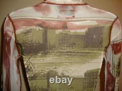 Fabulous, Rare, New Jean Paul Gaultier Maille Long Sleeve Mesh Top