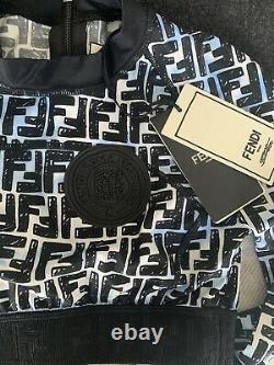 Fendi Roma Joshua Vides Logo Jersey Top Size 36 SOLD OUT