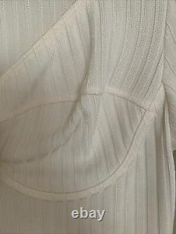 Fleur du mal Long Sleeve Knit Bra Top M