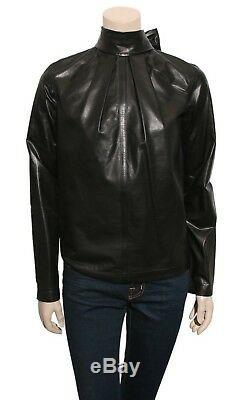 GIANFRANCO FERRE Leather Top (SIZE 38)