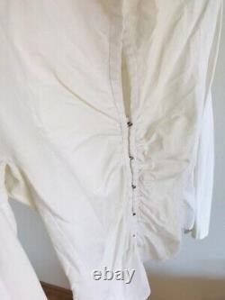 Gucci Women Corset Detail White Blouse Top Shirt It 42 S Netaporter Italy