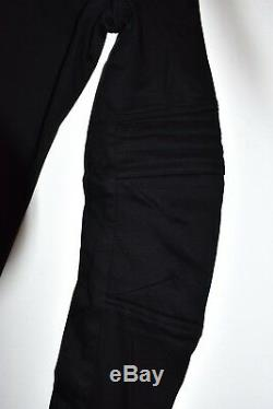 HELMUT LANG longsleeve tshirt black cutouts 90s top vintage cotton made in italy