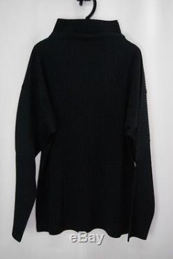 HOMME PLISSE ISSEY MIYAKE Black Men's Long Sleeve Top size4 284 1646