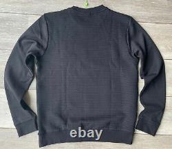 Hugo Boss Green Label Black Salbo Crew Jumper Sweatshirt Top XL New & Tags