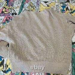 Hysteric Glamour Long Sleeve T-Shirt Cotton Hemp Sweater Free Size tops