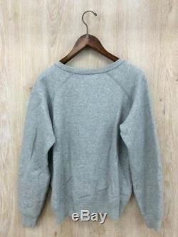 ISABEL MARANT ETOILE Tops Modified Sweat Gray Solid color Long sleeve Cool Women