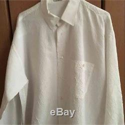 ISSEY MIYAKE Men's Tops Pleated Long-Sleeved Shirt Size XL